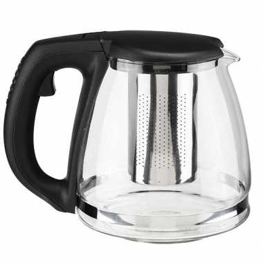 Koffiepot / theepot met filter inzet infuser 1,2 liter