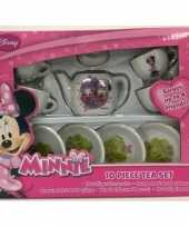 Serviessetje minnie mouse 10 delig